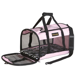 Petmate Soft Sided Kennel, Pink
