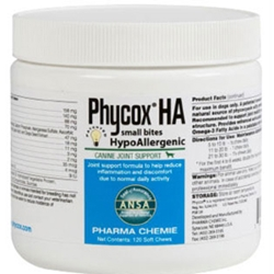 Phycox HA Small Bites, 120 Soft Chews