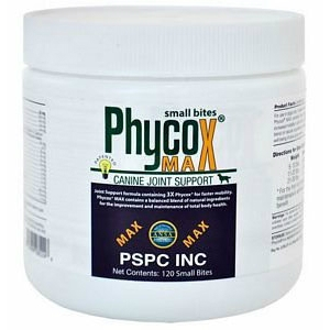 PhyCox Max Small Bites for Dogs, 120 Soft Chews