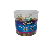 Polly Pops Foot Toys, 60 ct