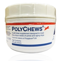 PolyChews for Dogs, 60 Soft Chews