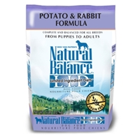 Potato & Rabbit Formula Dog Food, 5 lb - 6 Pack