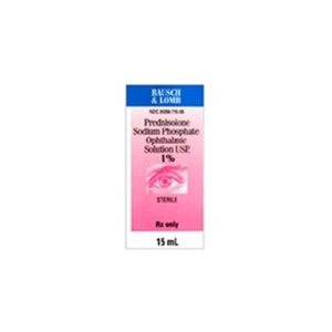 Prednisolone Sodium Phosphate 1% Ophthalmic Solution, 10 ml