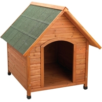 Premium Plus A-Frame Dog House, Extra Large