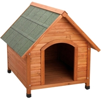 Premium Plus A-Frame Dog House, Large
