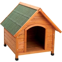 Premium Plus A-Frame Dog House, Medium