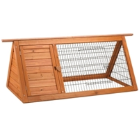 "Premium Plus Backyard Rabbit Hutch, 53.5"" x 24.5"" x 21"""