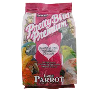 Pretty Bird Premium Large Parrot Food, 25 lb