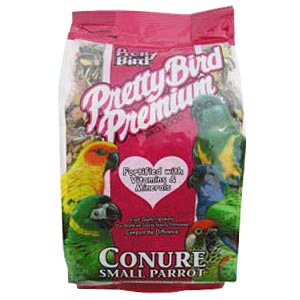Pretty Bird Premium Small Parrot Food, 50 lb