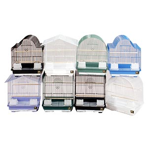 "Prevue Hendryx Assorted Small Bird Cages, 13"" x 11"" x 16"" - 8 Pack"