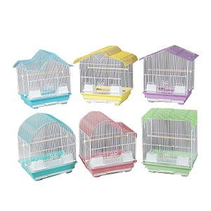 "Prevue Hendryx Assorted Small Bird Cages, 14"" x 11"" x 16"" - 6 Pack"