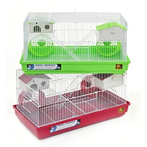 "Prevue Hendryx Deluxe Hamster Cage, 23"" x 12.75"" x 12.75"" - 4 Pack"