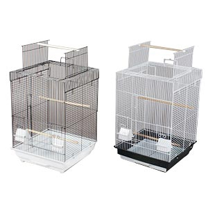 "Prevue Hendryx Playtop Parakeet Cage, 16"" x 16"" x 26.5"" - 4 Pack"
