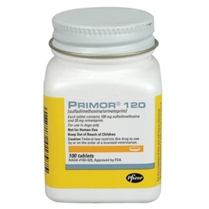 Primor 120 mg, 100 Tablets