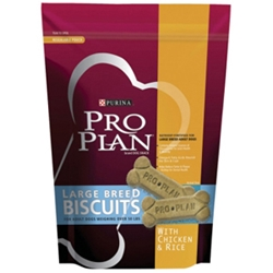 Pro Plan Chicken Dog Biscuits Large, 26 oz - 12 Pack