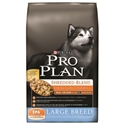 Pro Plan Large Breed Shredded Blend Dog Food Chicken & Rice, 18 lb