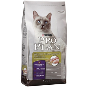 Pro Plan Weight Management Cat Food, 3.5 lb - 6 Pack