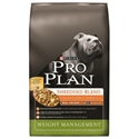 Pro Plan Weight Management Shredded Blend Dog Food, 34 lb