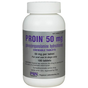 Proin 50 mg, 180 Chewable Tablets | VetDepot.com