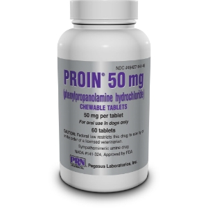 Proin 50 mg, 60 Chewable Tablets | VetDepot.com