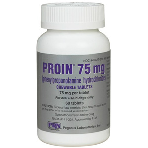 Proin 75 mg, 60 Chewable Tablets : VetDepot.com