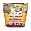 Pur Luv Grande Bones Peanut Butter Flavor for Medium & Large Dogs, 12 Bones : VetDepot.com
