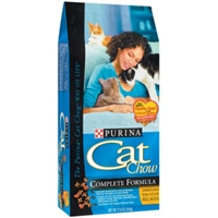 Purina Cat Chow Complete, 7 lb - 5 Pack