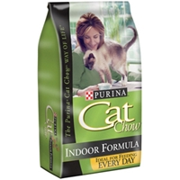 Purina Cat Chow Indoor, 3.5 lb - 6 Pack