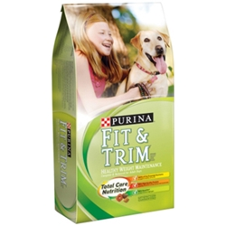 Purina Fit & Trim Dog Food, 35 lb