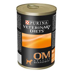 Purina OM Overweight Management Formula Canned Dog Food, 13.3 oz x 12