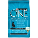 Purina One Hairball & Healthy Weight Cat Food, 3.5 lb - 6 Pack