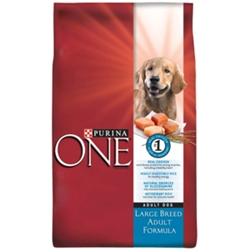 Purina One Large Breed Dog Food, 18 lb