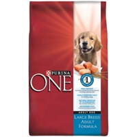 Purina One Large Breed Dog Food, 34 lb
