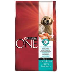 Purina One Large Breed Puppy Food, 34 lb