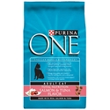 Purina One SmartBlend Cat Food Salmon & Tuna, 7 lb - 4 Pack