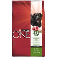 Purina One SmartBlend Dog Food Lamb & Rice, 18 lb