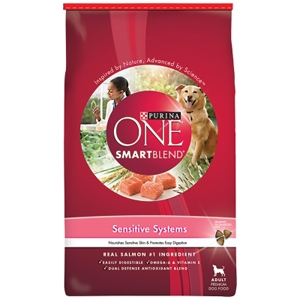 Purina One SmartBlend Dog Food Sensitive Systems, 31.1 lb