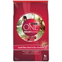 Purina One SmartBlend Dog Food Small Bites Beef & Rice, 31.1 lb