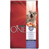 Purina One SmartBlend Vibrant Maturity 7+ Senior Dog Food, 34 lb