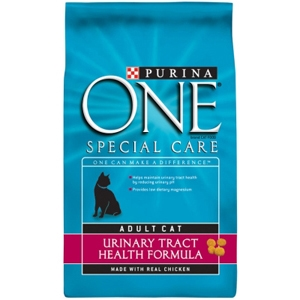 Purina One Urinary Tract Health Cat Food, 7 lb - 4 Pack