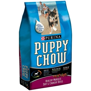 Purina Puppy Chow Healthy Morsels, 8.8 lb - 5 Pack