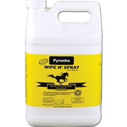 Pyranha Wipe N%27 Spray for Horses, 1 gal