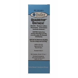 Quadritop Ointment, 7.5 mL