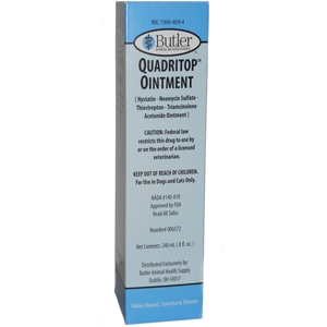 Quadritop Ointment, 240 mL (8 oz)