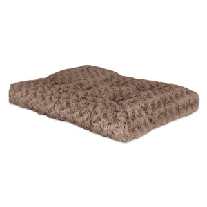 "Quiet Time Ombre Swirl Bed Mocha 40"" x 27"""