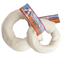 Rawhide White Donut, 3.5 inches