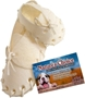 Rawhide White Shoe, 5 inches- 10 count