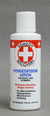 Remedy + Recovery Hydrocortisone Lotion for Dogs, Cats