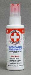 Remedy + Recovery Medicated Antiseptic Spray for Dogs, 4 oz
