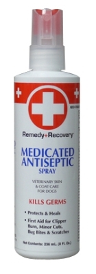 Remedy + Recovery Medicated Antiseptic Spray for Dogs, 8 oz